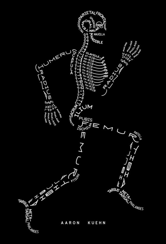 Aaron Kuehn. SKELETON TYPOGRAM