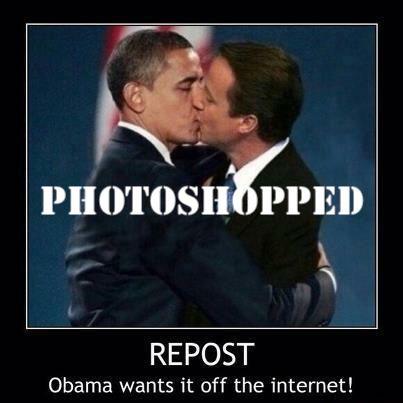 photoshopped kissing