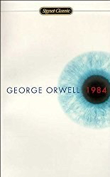Link to purchase George Orwell's book 1984 on Amazon.